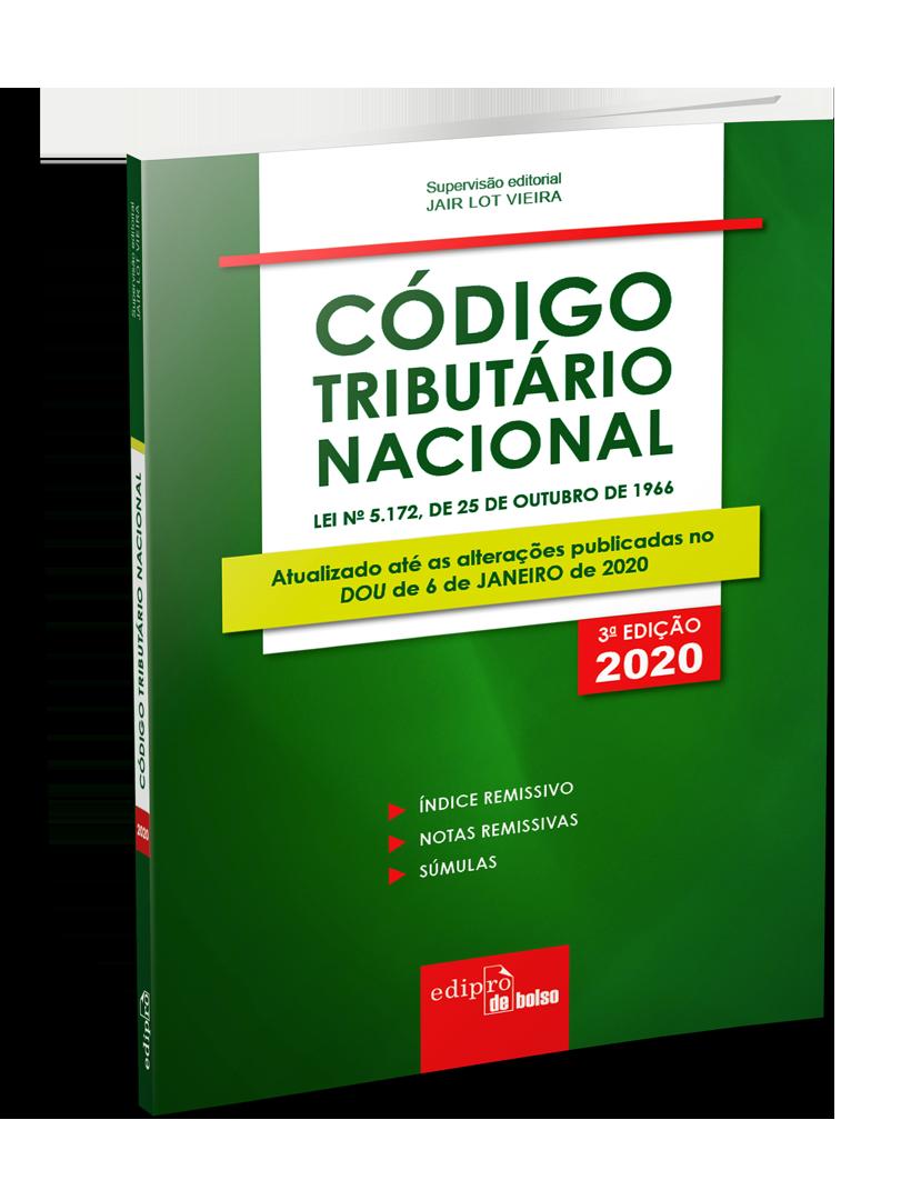 Código Tributário Nacional 2020 – Mini