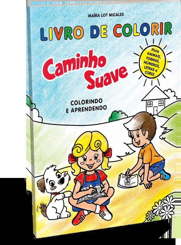 Livro de colorir Caminho Suave: colorindo e aprendendo